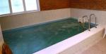 Sauna und Pool mit Gegenstromanlage